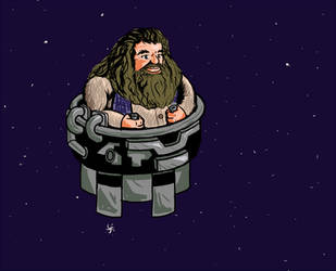 Floating Space Hagrid by Connorses