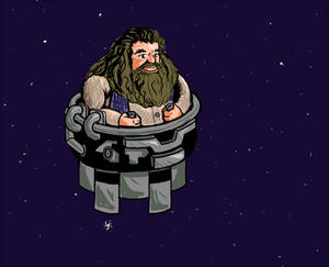 Floating Space Hagrid