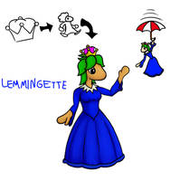 Lemmings + Super Crown =