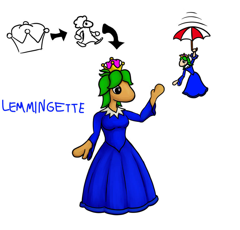 Lemmings + Super Crown = by Connorses