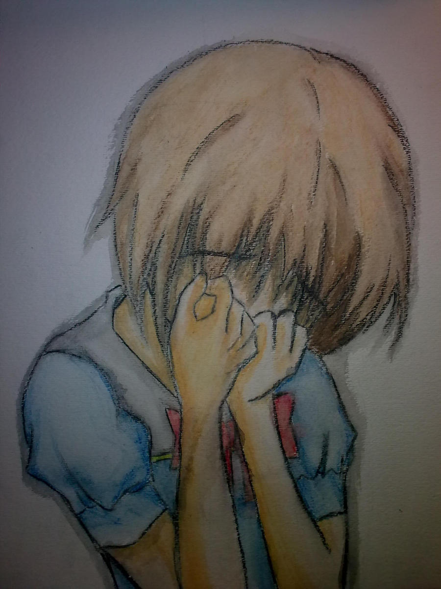 Anime Girl Crying By Xlunanightmare Anime Girl Crying By Xlunanightmare