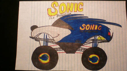 Sonic The Hedgehog by mj455