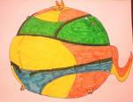 Tess (ottsel form) Ballooned!