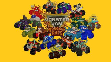 Monster Jam Truckin Pals