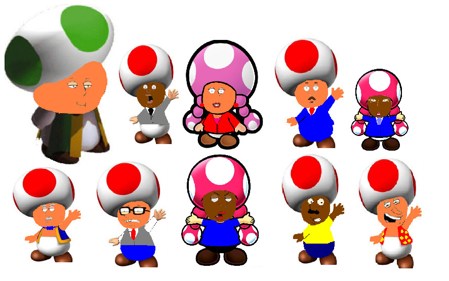 Toad Family Guy Characters By Nothingspecial1997 On DeviantArt
