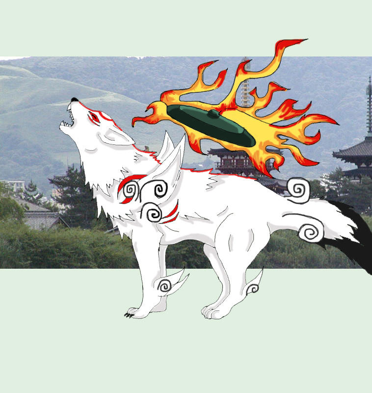 Okami by DarkHikari