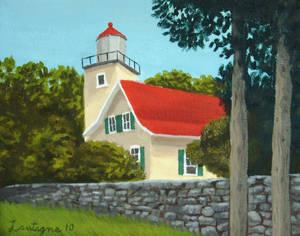 Eagle Bluff Light House