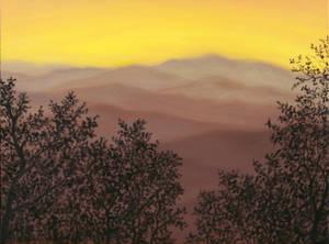Dusty Rose Sunset