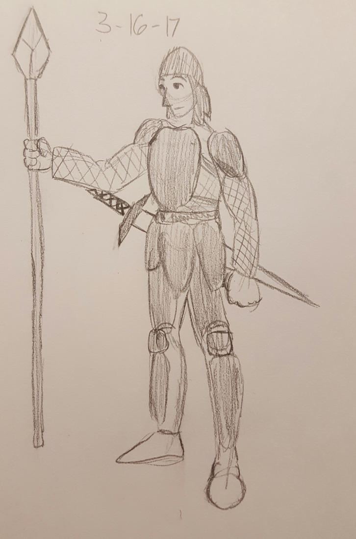 Knight Drawing by Charley1925