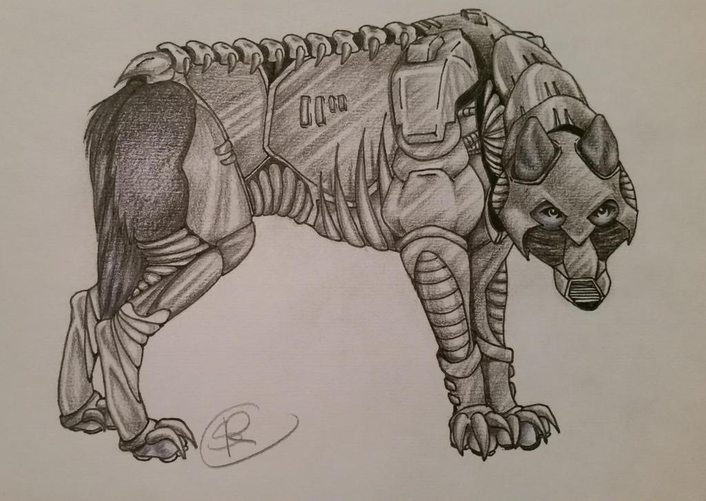 Armor Wolf by Xinomavro