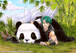 Playing With Panda Fairy