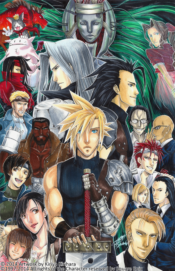 Final Fantasy VII by Kiriya-Kirihara