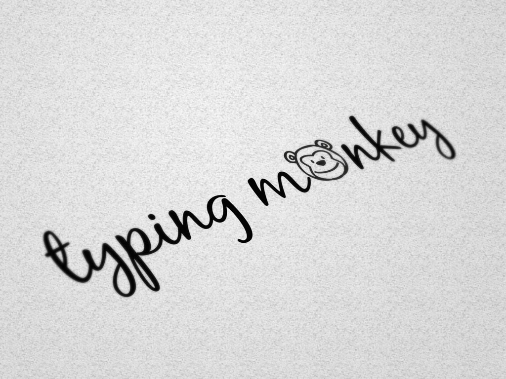 typing monkey - Logo