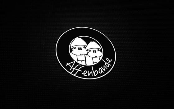 Affenbande Logo - Wallpaper Mockup