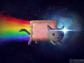 Toaster Pastry Feline by BenHickling