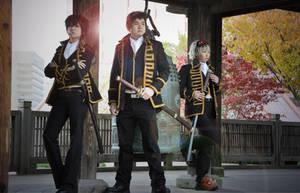 Boy Band Album Cover