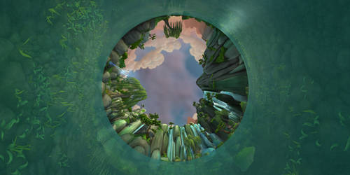 WoW MoP Panoramic - The Jade Forest #1 by Jimbomcb