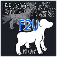 [F2U BASE] .psd + .lip available!! by nikuhy