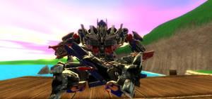 Greetings from Optimus Prime