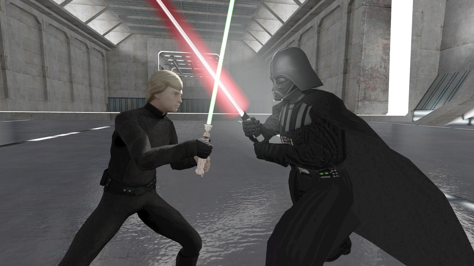 Luke Skywalker Vs Darth Vader By Kongzillarex619 On Deviantart