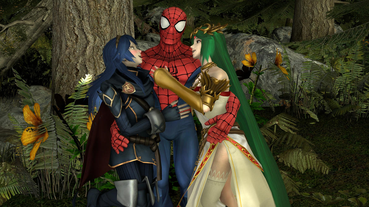 Spider-Man, Lucina and Palutena: Our Hero! by ...