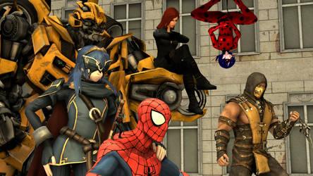 The Bug Avengers by kongzillarex619