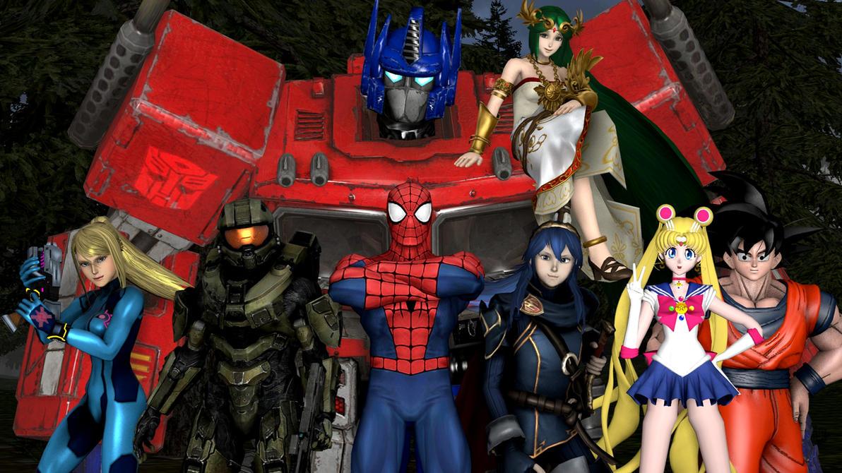 Dimensional Warriors Assemble! (Upcoming Series) by kongzillarex619