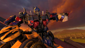 Optimus Prime (Corrupted)  vs Bumblebee Forgive Me by kongzillarex619