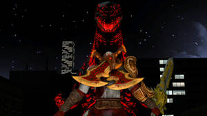 Kratos vs Shin Godzilla