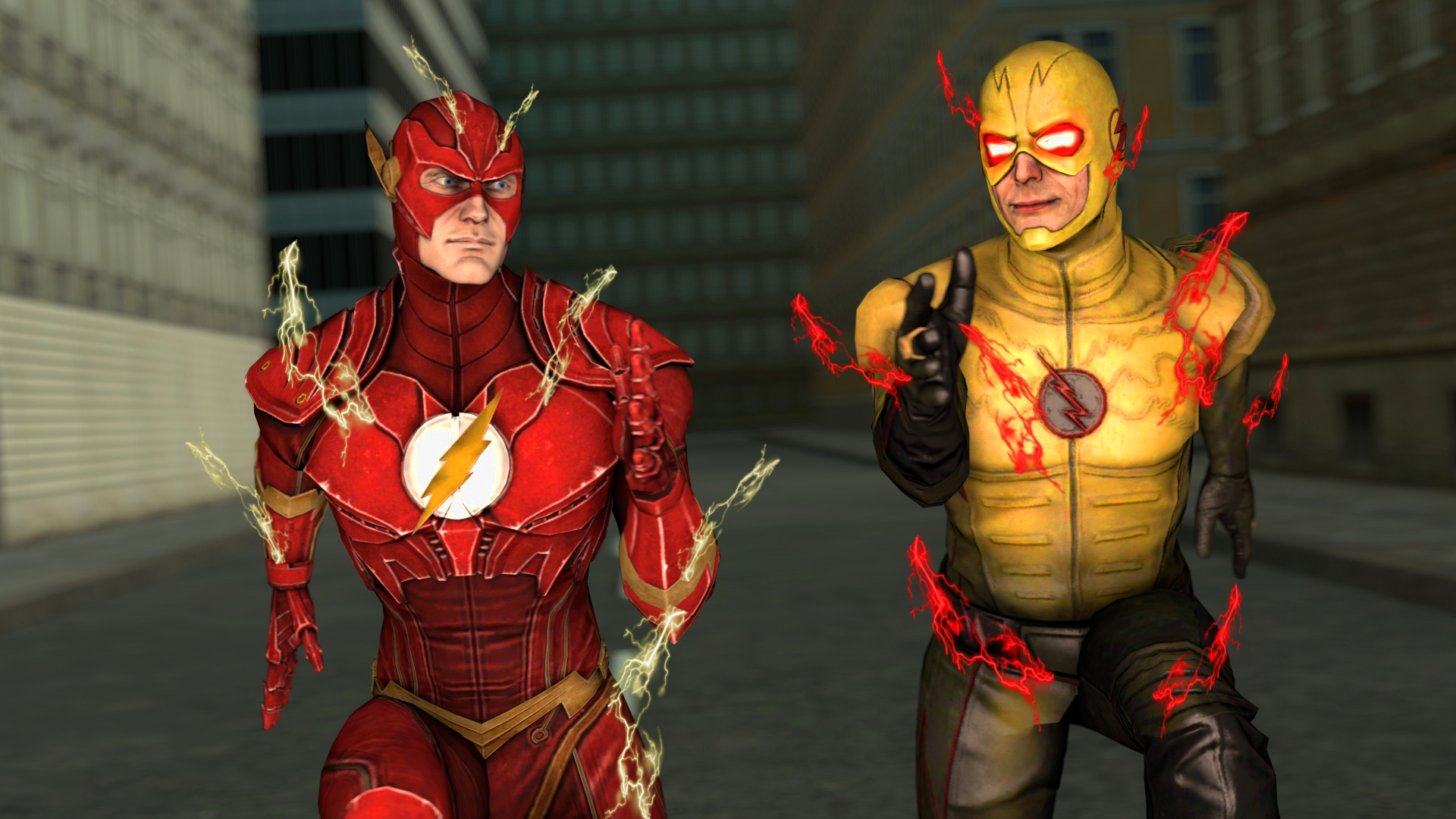 The Flash Vs Reverse Flash By Kongzillarex619 On Deviantart