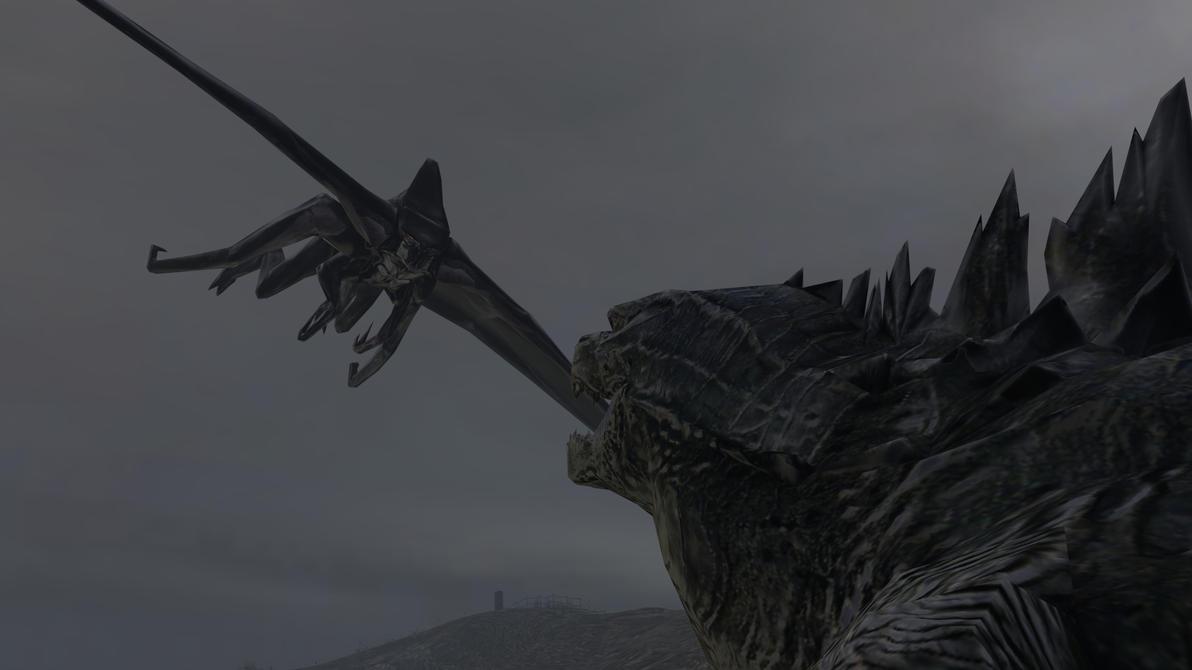Male Muto vs Godzilla by kongzillarex619 on DeviantArt