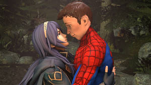 Lucina and Spider-Man : beauty