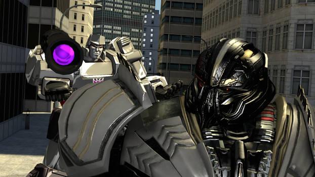 Megatron encounters Megatron