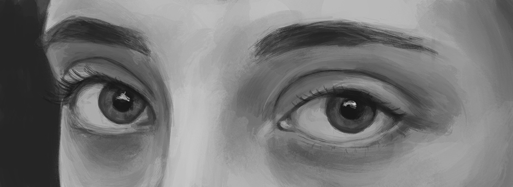 Eyes Painting 6 by Russtiel