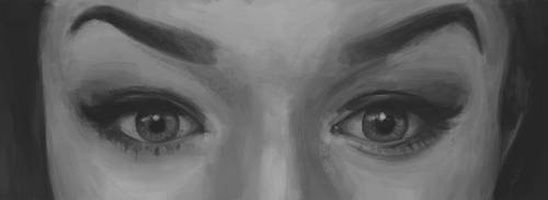 Eyes Painting 7 by Russtiel