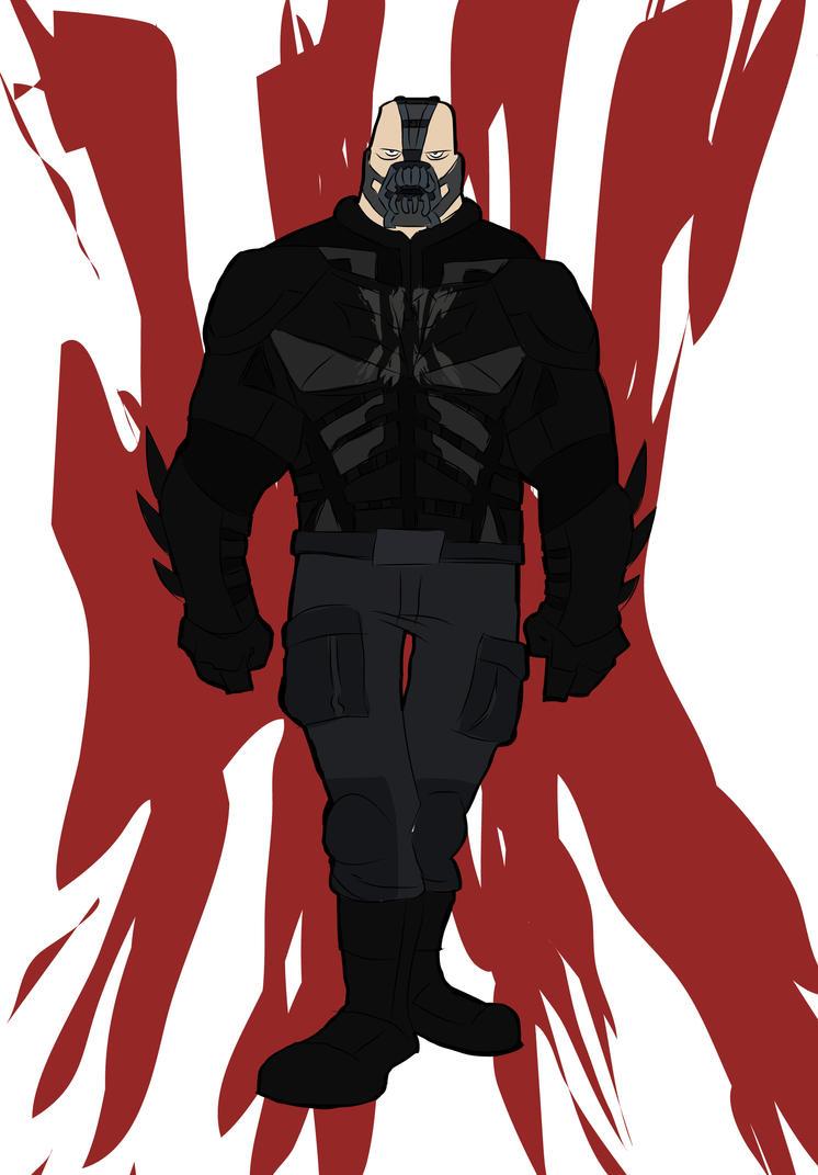Bane in Batsuit by 27poker
