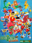 Sesame Street Fighter Alpha