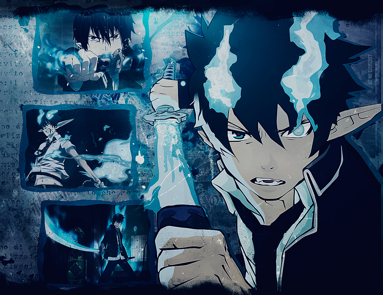 blue exorcist computer wallpapers - photo #32