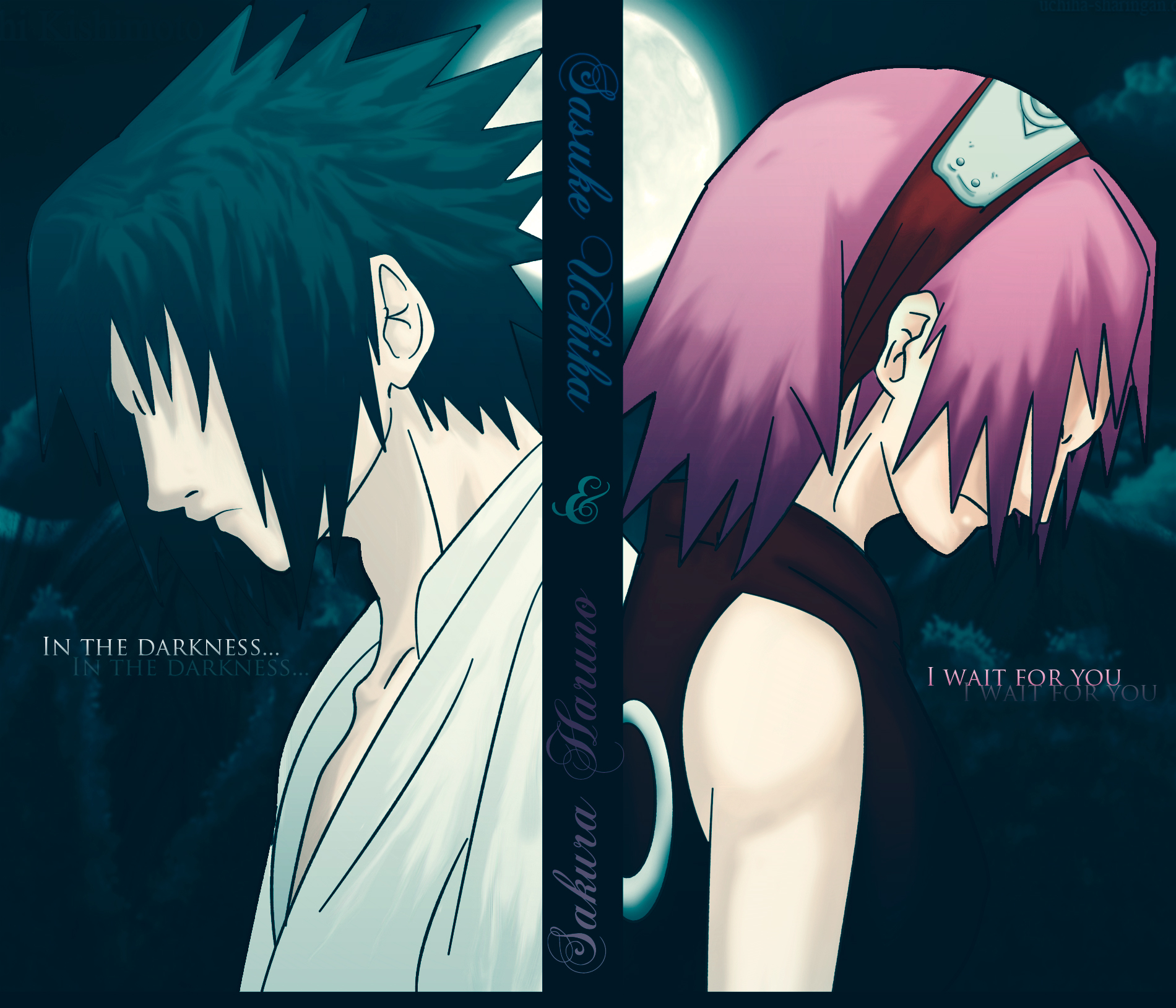Love Sakura And Sasuke Wallpaper