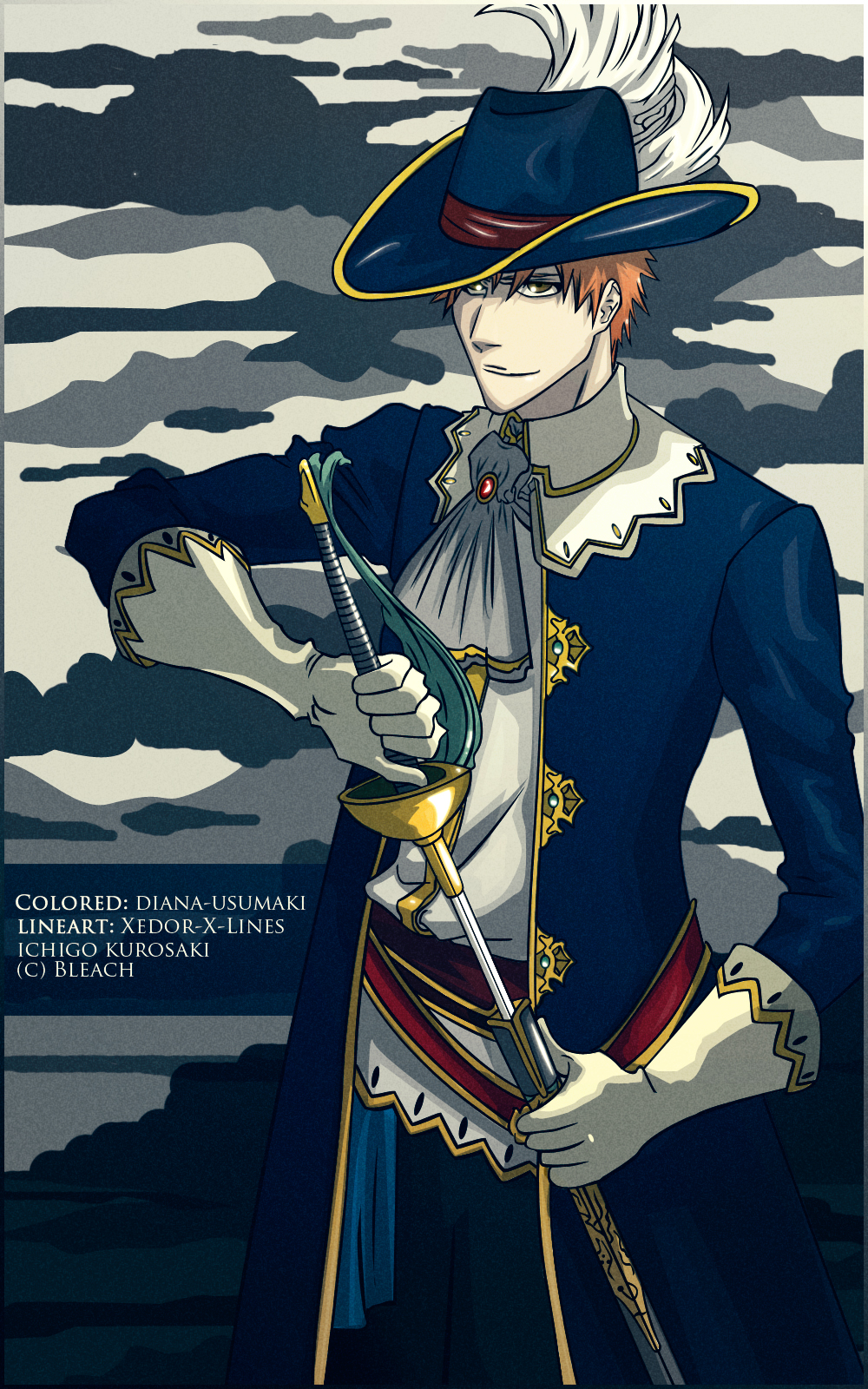 Ichigo Musketeer by diana-usumaki