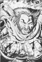 Wolvie as Death by TomRaney