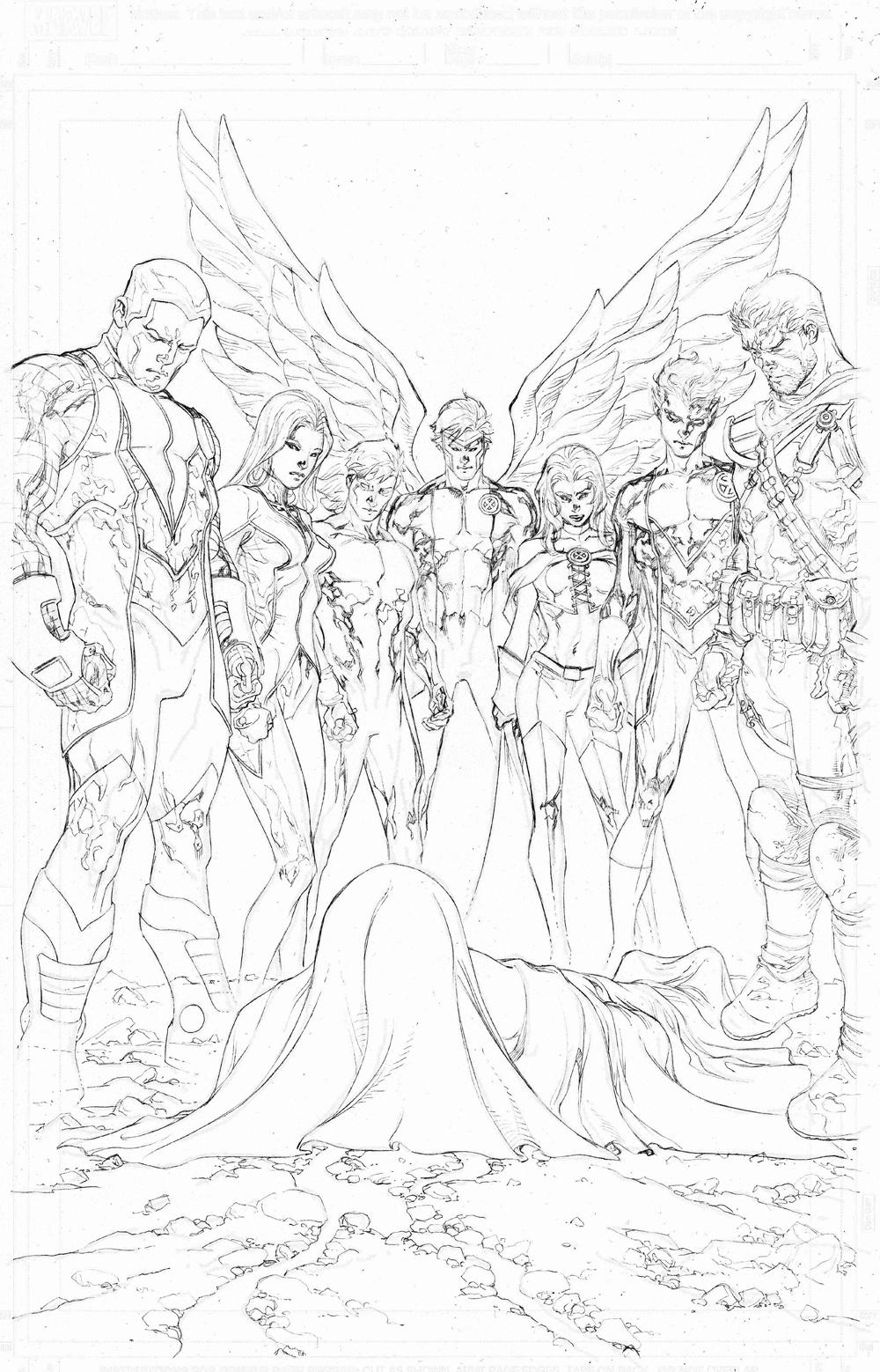 Dead Xmen? by TomRaney