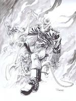 Ghost Rider by TomRaney