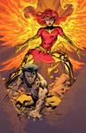 Wolvie n Phoenix in color