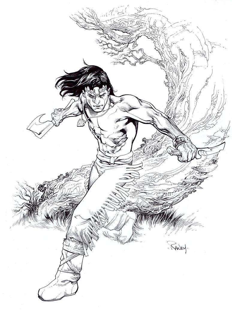 Arak Son of Thunder by TomRaney