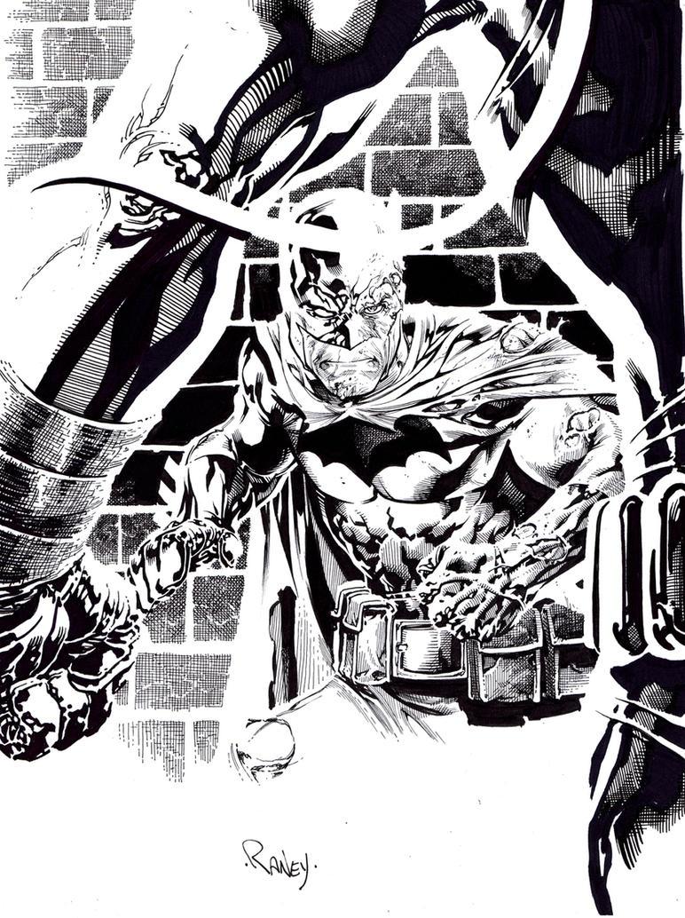 Batman vs Bane by TomRaney on DeviantArt Manspider Vs Manbat