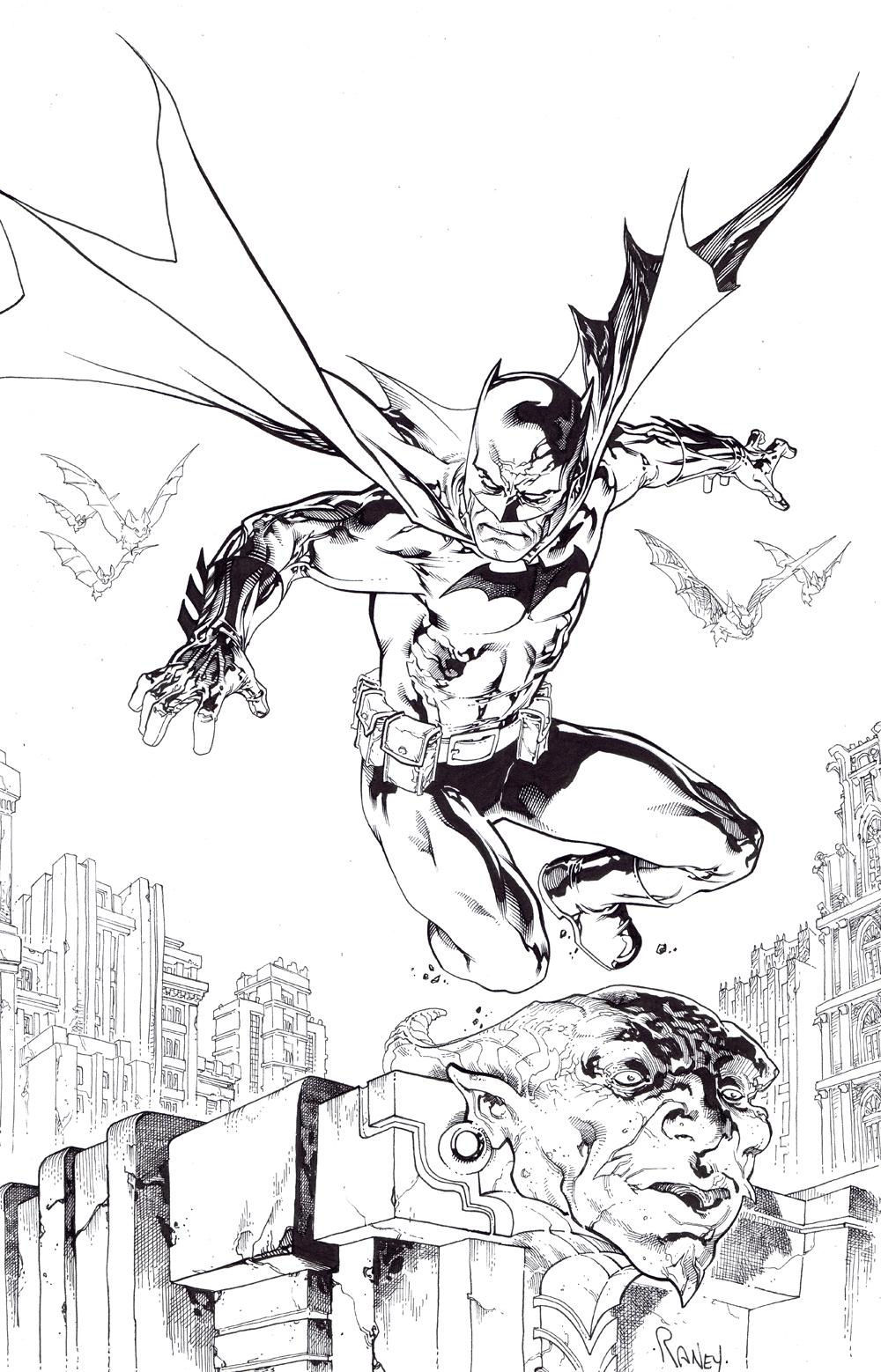 Batman by TomRaney