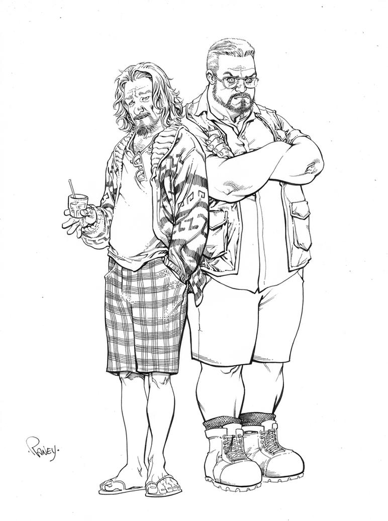 Walter and the Dude by TomRaney