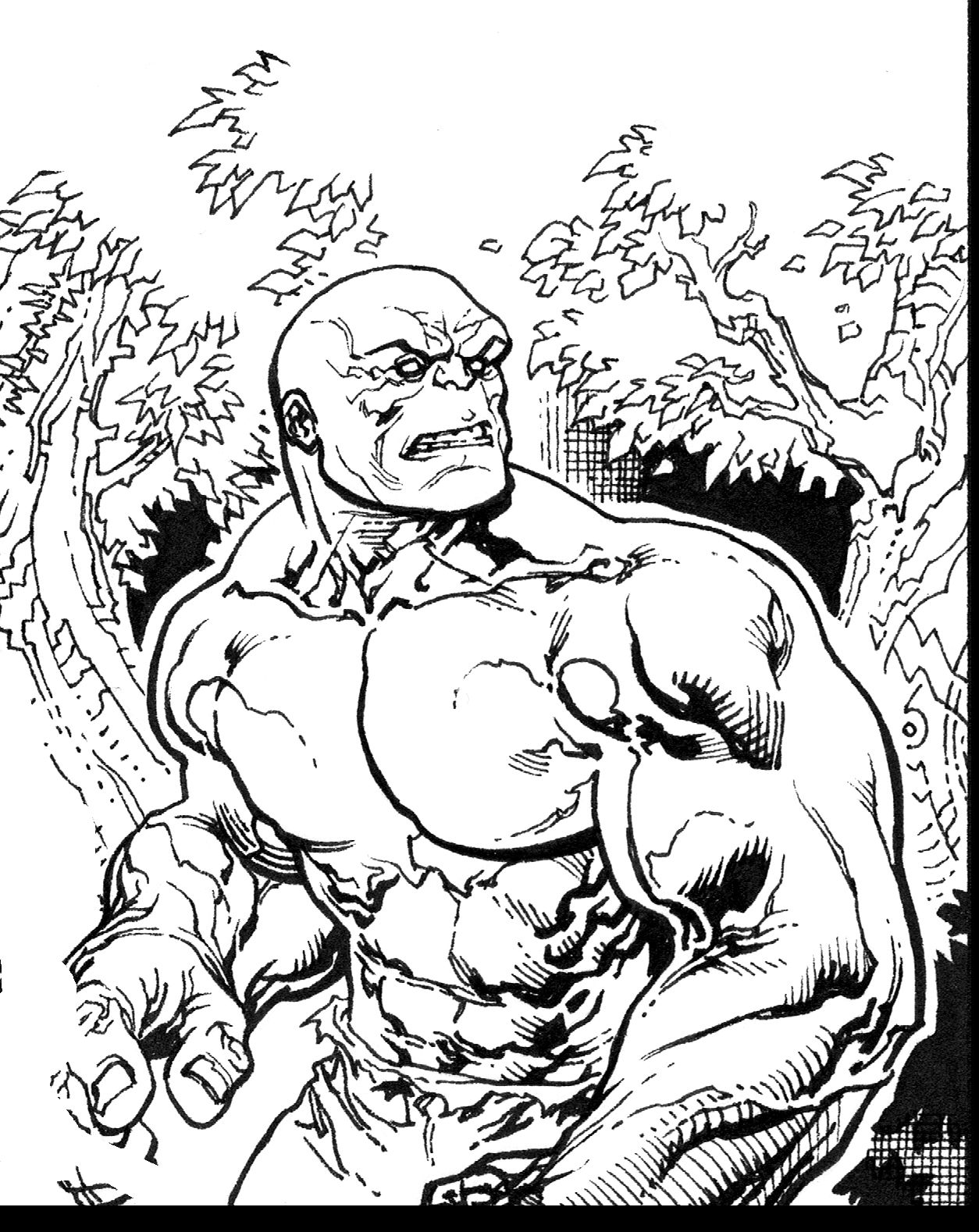 Incredible Hulk preview by TomRaney on DeviantArt