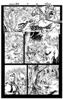 Incredible Hulk  #10  pg 6 by TomRaney